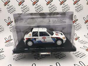 """Die Cast """" Peugeot 205 T16 Vatanen Rallye Sanremo 1984 """" 1/24"""