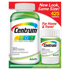 Centrum Adults Multivitamin, 425 Tablets For Home & Travel World Wide Shipping