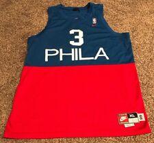 Nike Allen Iverson  3 NBA SEWN 76ers Philadelphia 1966 Stitched Retro Jersey  XL 11e4066de