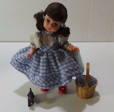 Madame Alexander Dorothy Wizard of Oz Doll Toto in Basket 13200 (I1) DNT BNO#9