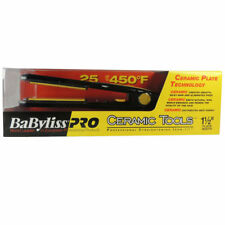 BABYLISS PRO CERAMIC TOOLS 1 1/2'' STRAIGHTENEG IRON FLAT IRON HAIR IRON NEW