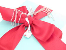 Tiffany & Co Silver Orchid Flower Twist Gehry Necklace