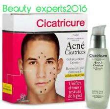 CICATRICURE Reapairer Gel Dermal for ACNE SCARS/cicatrices por ACNE restaura