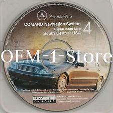 2000 01 MERCEDES C240 C320 E320 E430 E55 AMG NAVIGATION CD 4 S CENTRAL OK MS TX