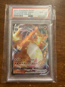 2020 Pokemon SWSH- Darkness Ablaze - CHARIZARD VMAX #020 - PSA 10