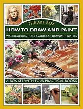 NEW The Art Box: How to Draw and Paint: A box set with four practical books