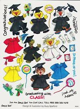 Suzys Zoo Stickers 25 Sheets Graduating with Class Congrats Grad