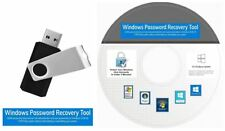 Windows Password RESET USB & CD Flash Drive, Unlock, Recovery Windows 10, 8, 7