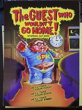 Garbage Pail Kids 2015 2 30th Horror Film #1 The Guest Who Wouldn't Go Home!