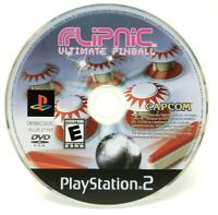 Flipnic Ultimate Pinball Sony PlayStation 2 PS2 Game Only