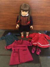 American Girl Original Pleasant Company Molly McIntire Doll with Meet Outfit