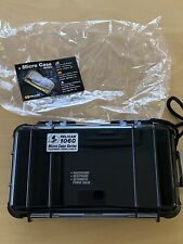 Case of 6 Pelican 1060 Micro Cases, Solid Black, NWT