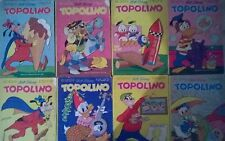 Lotto 8 Topolini 1026 1027 1028 1029 1030 1032 1033 1034 COMPONI IL TUO LOTTO !