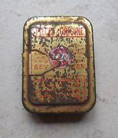 Ancienne boite métal Tole S.E.V Pièces d'Origine Automobilia garage