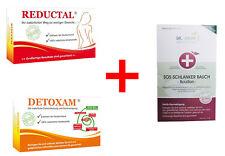 Reductal + Detoxam + SOS Schlanker Bauch - Entschlackung, Entgiftung, Fatburner