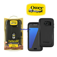 Otterbox Defender Samsung Galaxy S7 edge Rugged Case w/Holster Belt Clip (Black)