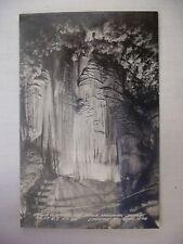 "Vintage Postcard ""Stage Curtains"" At Meramec Caverns In Stanton Missouri Unused"