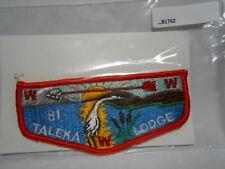 O.A. LODGE 81 TALEKA ORANGE BORDER  VINTAGE  B1762