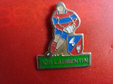 pins pin sport rugby XIII laurentin