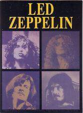 Led Zeppelin Licensed Laminated Sticker no longer made plant page bonham jones