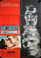 Der Schwimmer Filmposter A1 The Swimmer Burt Lancaster Janet Landgard J. Rule