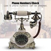 Vintage Retro antik Telefon Nostalgie Design Festnetztelefon Tisch Haustelefon