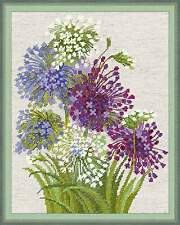 Allium RIOLIS Cross Stitch Kit