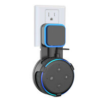 Outlet Wall Mount for Amazon Alexa Echo Dot 3rd Generation Black