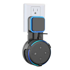 Outlet Wall Mount for Amazon Echo Dot 3rd Generation Black