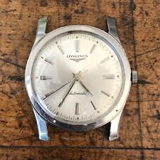 Vintage Longines Automatic Cal 340 Stainless Steel Wristwatch Running