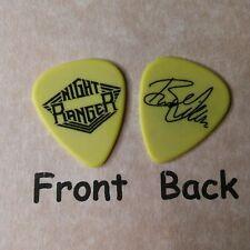 NIGHT RANGER BRAD GILLIS signature guitar pick - novelty (w-L8)