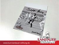 Autogrammkarte Josef Berg – FC Bayern - limitiert! Kurt Landauer Stiftung