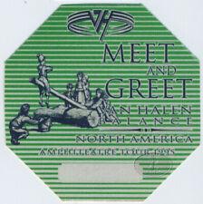 VAN HALEN 1995 BALANCE TOUR BACKSTAGE PASS Meet green