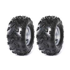 """Pair 18X9.5- 8"""" Rear Tyre Wheel Rim Tire 18x9.50-8 for UTV ATV GOLF CART GO KART"""