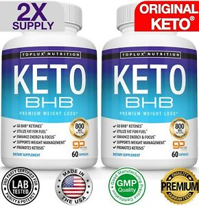 Ultra Fast Keto Diet Pills BHB Weight Loss CAPSULE Ketogenic Fat Burner ORIGINAL