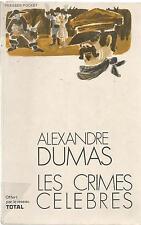 ALEXANDRE DUMAS LES CRIMES CELEBRES TOTAL
