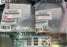 2014-16TOYOTA SIENA HIGHLANDER SEQUOIA LAND C BLUE RAY DVD Entertainment Remote