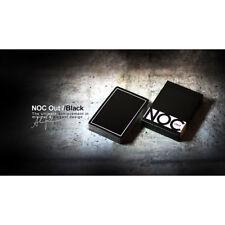 Mazzo di carte NOC OUT Black Playing Cards - Mazzi di Carte da Gioco