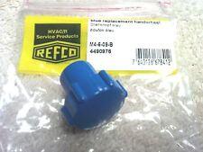 REFCO, 3 & 4-WAY refco manifolds, Replacement Knob, BLUE, M4-6-09-B