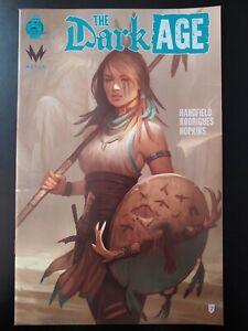 ⭐️ The DARK AGE #2b (1:10 retailer incentive) (2019 RED 5 Comics) VF/NM Book