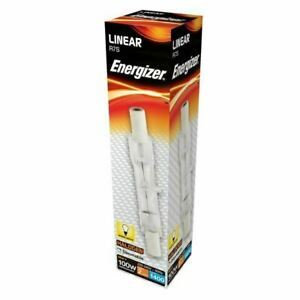 ENERGIZER HALOGEN R7S 78MM 80W FLOOD LIGHT REPLACEMENT LAMP-BULB DIMMABLE