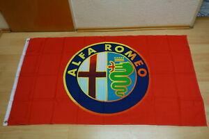 Fahne Flagge Alfa Romeo Rot - 90 x 150 cm