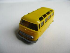 Wiking 1:87 Mercedes L 319 Bus, Jaune / Argent, Coupe Du Monde