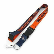 Denver Broncos NFL Football Team Slogan Lanyard
