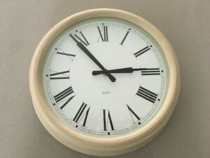 Laura Ashley Wall Cream Clock