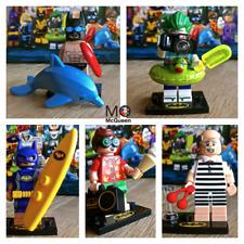 71020 LEGO BATMAN MOVIE Vacation Robin Joker Batgirl Alfred Ser2 Minifigs SEALED