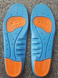 Sports Shoe Insoles Size 7 - 11 Arch Support Healthcare