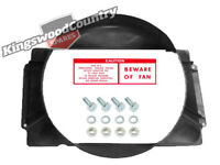 Holden V8 Radiator Fan Shroud GMH +Fitting kit +Decal HQ HJ HX 308 253 cowl