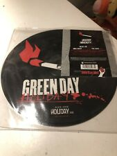 """Green Day-Holiday.7"""" picture disc Never Played"""