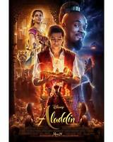 "Aladdin 2019 Movie Poster Will Smith 24"" x 36"""